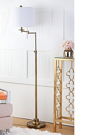 Safavieh Lighting Collection Nadia Gold 64.25-inch Floor Lamp