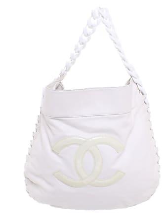 ffa0464aa6032 Chanel gebraucht - Handtasche aus Leder in Weiß - Damen - Leder