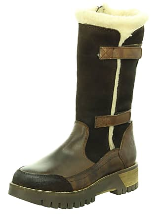 9c48699a7fd0 Marco Tozzi Marco Tozzi 2-26626-27 Womens Mocca Leather Boots, 7.5 UK