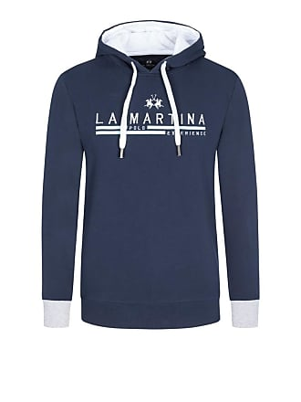 9f150f21469c94 La Martina Sweatshirt mit Kapuze in Marine für Herren