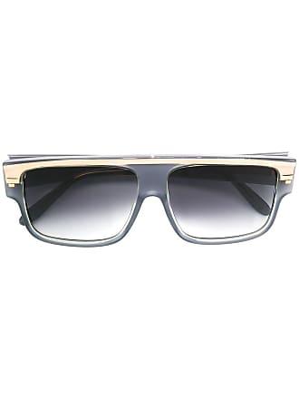 Emmanuelle Khanh square frame sunglasses - Cinza