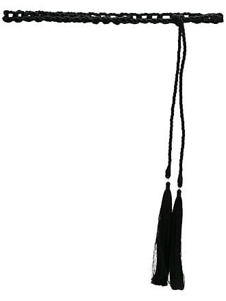 OLYMPIAH Cinto corda Trançada - Preto