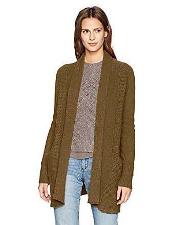 Lucky Brand Womens Liza Cardigan Sweater, Olive, L