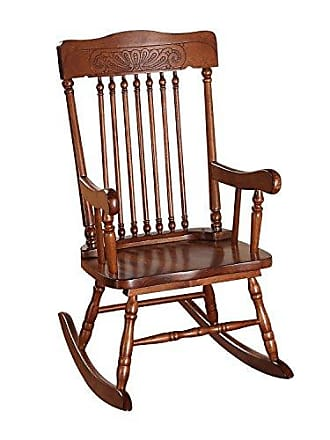 ACME 59218 Kloris Youth Rocking Chair, Tobacco