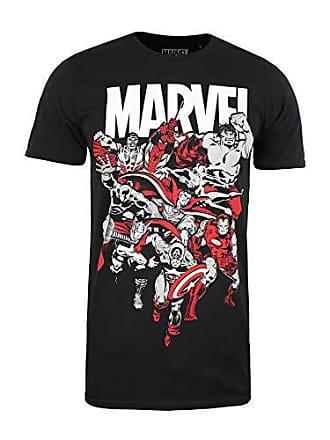 0b31688eda4 MARVEL Avengers Alliance Camiseta, Negro (Black Blk), Talla del Fabricante:  Medium