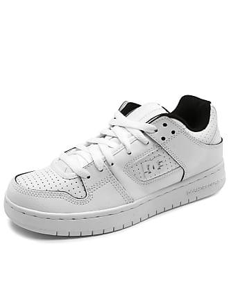 DC Tênis Couro DC Shoes Manteca Branco