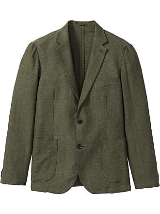 cd107154ff08 Bonprix Herr Linnekavaj i grön lång ärm - bpc selection