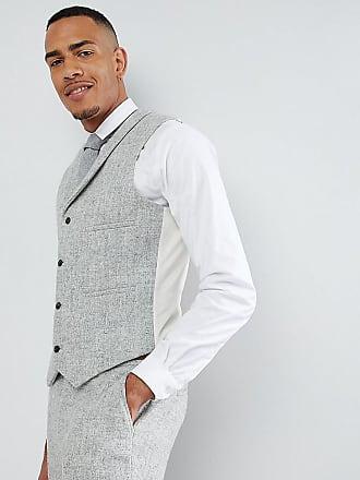 Asos ASOS TALL - Veston de costume slim en 100% tweed de laine Harris à 37d6036a363