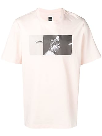 OAMC printed T-shirt - Pink
