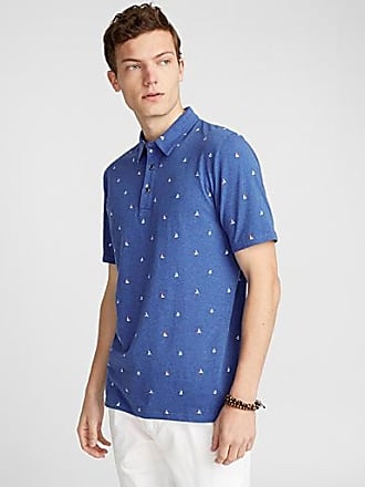Le 31 Vacation pattern organic cotton polo