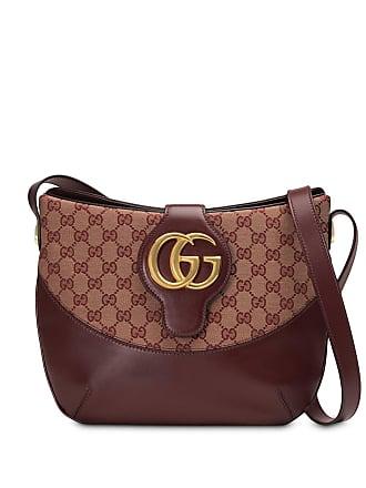 Gucci Bolsa tiracolo Arli GG média - Vermelho