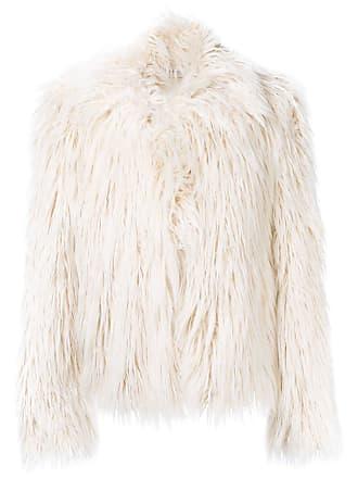 Faith Connexion faux-fur jacket - Neutrals