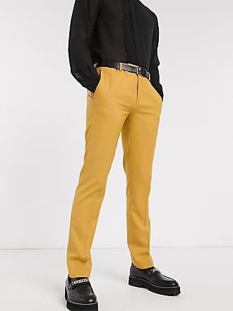Twisted Tailor Hemmingway - Pantaloni da abito giallo scuro