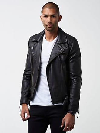 William Baxter Jacka Stevie Leather Jacket Svart