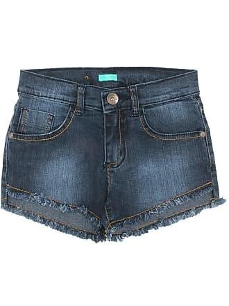 Bisi Short Bisi Jeans Azul