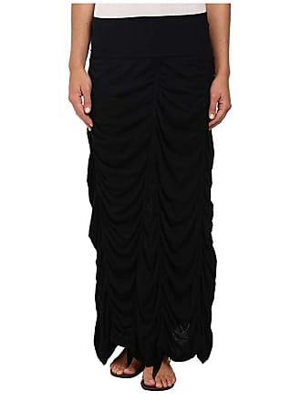 Xcvi Jersey Peasant Skirt (Black) Womens Skirt