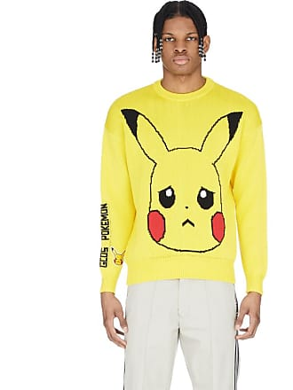 GCDS Pikachu Knitted Pullover - Yellow