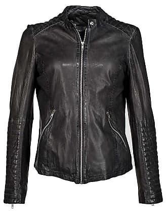 80241168cde7 Damen-Lederjacken in Schwarz  Shoppe bis zu −60%   Stylight