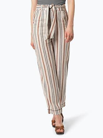 57dc1a09a486dc Pepe Jeans London Damen Hose mit Leinen-Anteil - Linette mehrfarbig