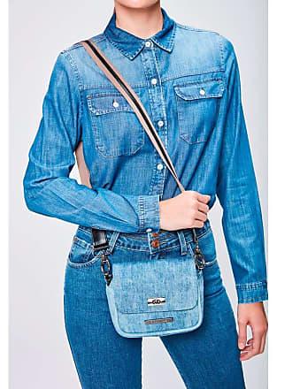 Damyller Bolsa Jeans Transversal Feminina Tam: UC/Cor: BLUE