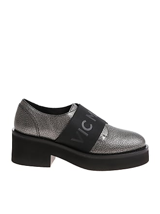 99c0bac68b2 Vic Matié Silver shoes with branded elastic