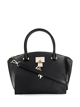 DKNY Padlock tote bag - Black
