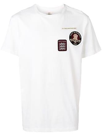 Kent & Curwen Camiseta com patch de logo - Branco