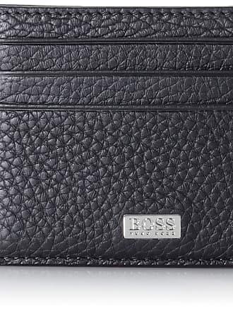 HUGO BOSS Boss Mens Crosstown_s Card N Wallet 1 x 8 x 11 cm Black