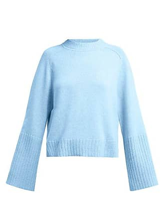 Allude Cashmere Sweater - Womens - Light Blue