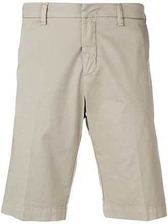 Entre Amis classic chino shorts - Cinza