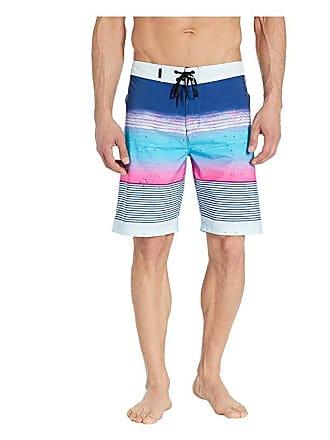 a4333f54d8 Hurley Phantom Overspray 20 Boardshorts (Gym Blue) Mens Swimwear