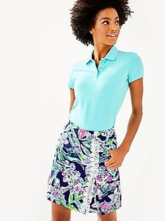 Lilly Pulitzer Luxletic Meredith Polo Top