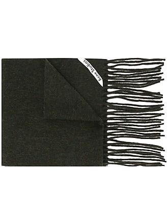 Acne Studios Canada Skinny fringed scarf - Verde
