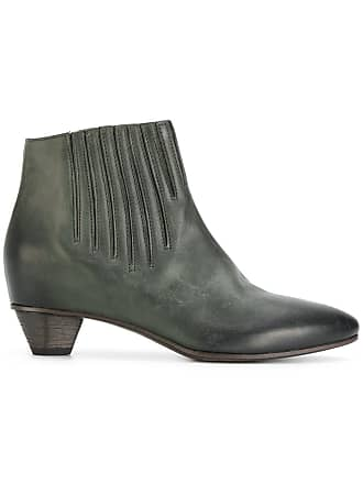 Del Carlo Ankle boot de couro - Verde