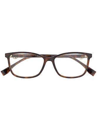 7950dafad065f Fendi Armação de óculos quadrada - Marrom