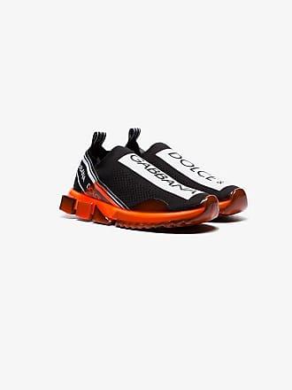 227f5482915d9 Dolce & Gabbana Black Neon sole knitted sock sneakers