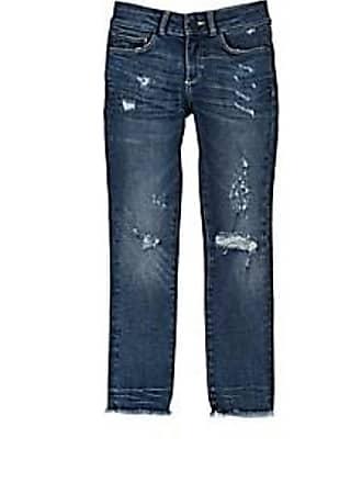 DL1961 1961 Kids Chloe Distressed Skinny Jeans - Blue Size 2 YRS