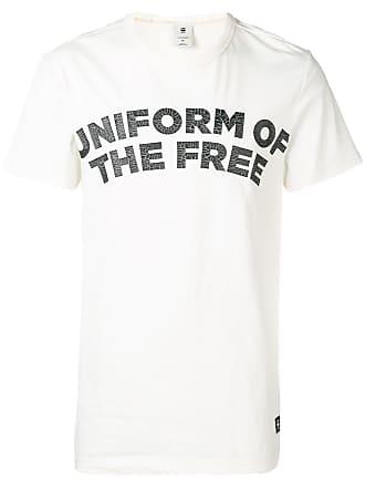 G-Star Raw Research Camiseta com estampa - Branco