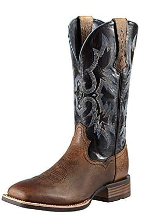 Ariat Ariat Mens Tombstone Western Cowboy Boot, Earth/Black, 8.5 2E US