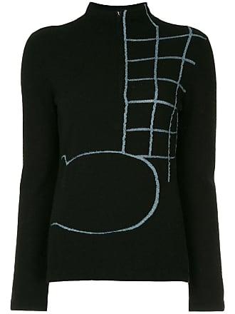 Onefifteen Suéter com bordado - Preto