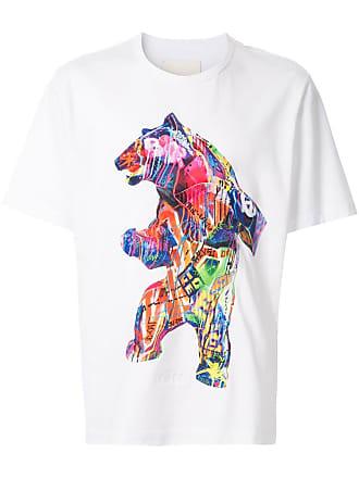 Juun.J bear T-shirt - Branco