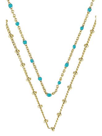 Gorjana Pristine Coin Necklace in Metallic Gold
