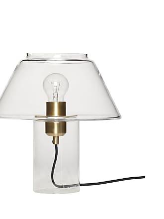 Hübsch bordslampa glas