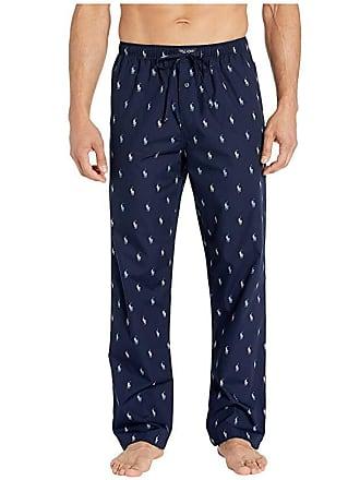 0f377b881 Polo Ralph Lauren 40s Woven PJ Pants (Cruise Navy Cruise Navy Piping Blue