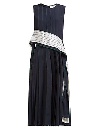 Sportmax Zenica Dress - Womens - Navy White
