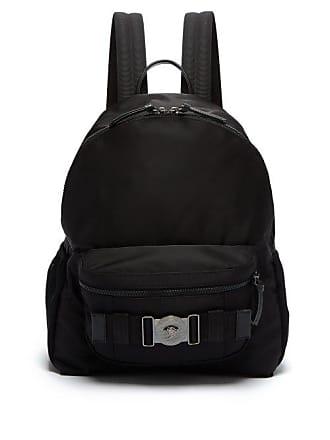 d693097be7 Versace Medusa Plaque Backpack - Mens - Black