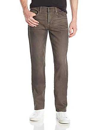 Joe's Mens Brixton Straight and Narrow Jean, Khaki, 33