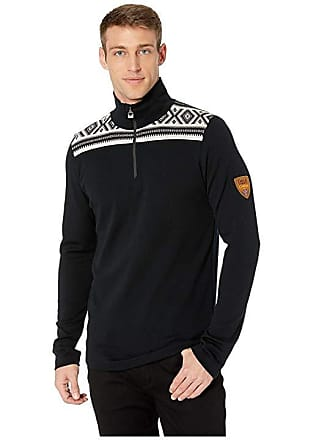 beffb8263931 Dale of Norway Cortina Merino Masculine Sweater (F-Black Off-White)