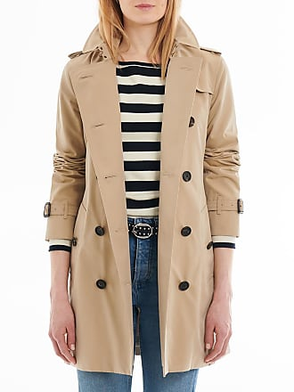 Burberry Trench femme The Kensington Heritage Beige Burberry 00da67bfe87