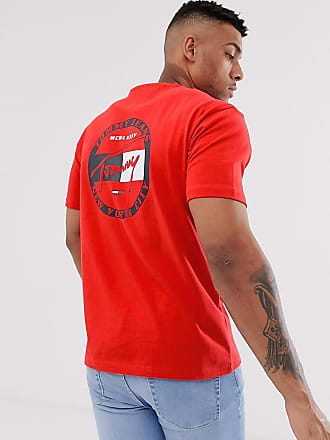 bf0f5934 Tommy Jeans exclusive to Asos back circle signature logo t-shirt in red